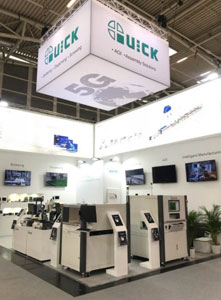 Quick's 7th Participation at Productronica